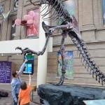 Lenny, Isaac, and Tyrannosaurus Rex