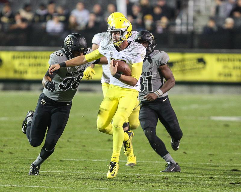 Oregon, Colorado, college football, sports photography