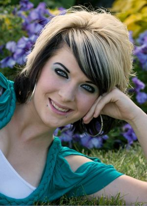 Kelsey Senior Portrait, Inspiration Point, Denver