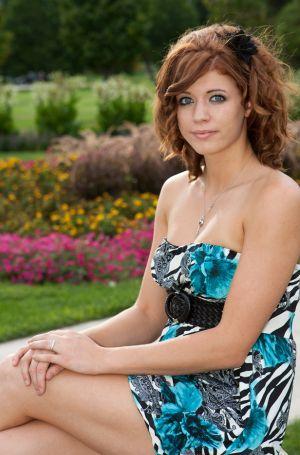 Kylee Senior Portrait, Denver City Park