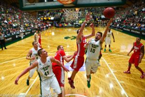 New Mexico vs Colorado State Basketball