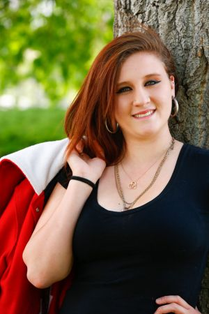 Mariah Senior Portrait, Raines Park, Northglenn