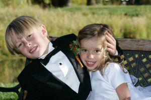 Ring Bearer and Flower Girl,  Roaring Fork Club