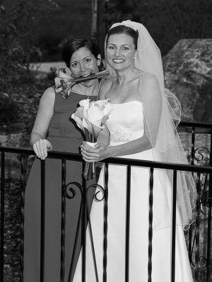 Bride and Bridesmaid, Stonebrook Manor