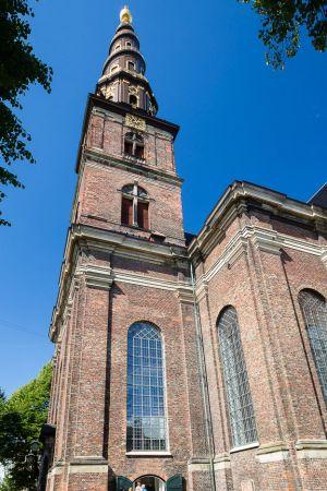 Church Spire Copenhagen