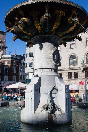 Fountain ni Copenhagen