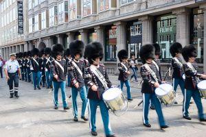 Changing of Palace Guard Copenhagen